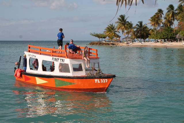 Glass Bottom Boat Tours Store Bay Tobago